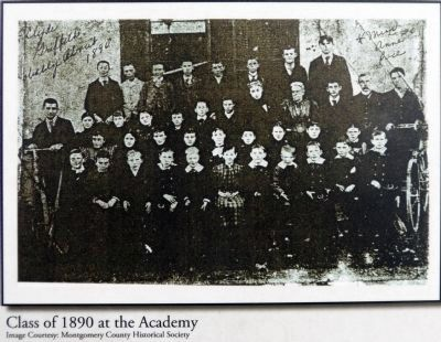 Class of 1890 at the Academy image. Click for full size.