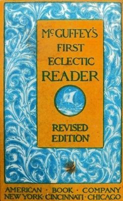 Cover of McGuffey's First Eclectic Reader image. Click for full size.