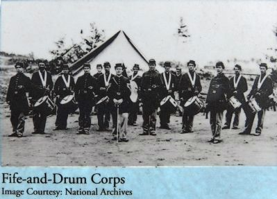 Fife and Drum Corps image. Click for full size.