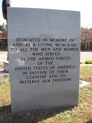 Red Bank Veteran's Memorial Marker image. Click for full size.