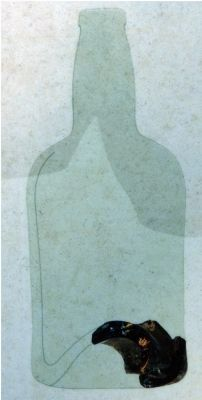 Olive Green Bottle Glass (18th and 19th centuries) image. Click for full size.