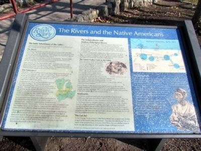 The Rivers and the Native Americans Marker image. Click for full size.