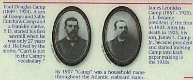 Paul Douglas Camp. and James Leonidas Camp image. Click for full size.