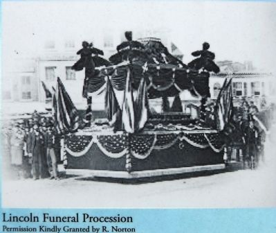 Lincoln Funeral Procession image. Click for full size.