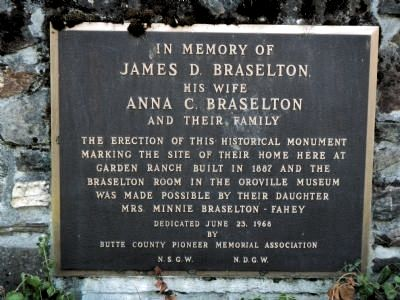 Braselton Home Site Marker image. Click for full size.