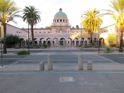 Pima County Courthouse image. Click for full size.