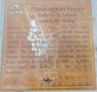 Pennington Street Marker image. Click for full size.
