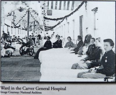 Ward in the Carver General Hospital image. Click for full size.