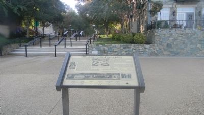 The Alexandria Ford Plant Marker in Ford's Landing Park image. Click for full size.