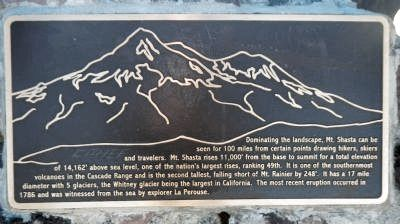 Mount Shasta Marker image. Click for full size.
