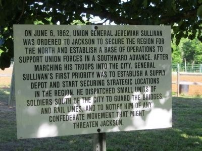 On June 6, 1862, Union General Jeremiah Sullivan image. Click for full size.