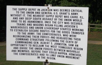 The supply depot in Jackson was deemed critical image. Click for full size.
