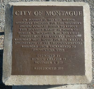 Montague Marker image. Click for full size.