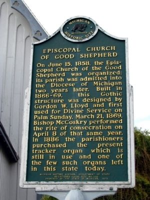 Episcopal Church of Good Shepherd Marker image. Click for full size.