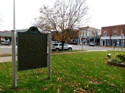 Allegan County Marker image. Click for full size.