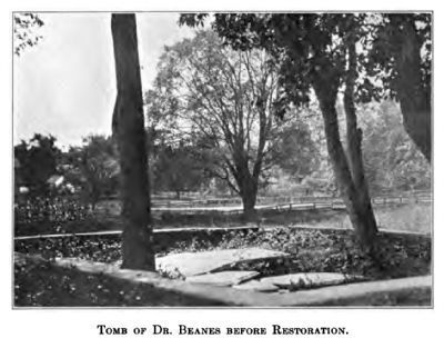 Dr. Beanes' Tomb Before the 1914 Restoration image. Click for full size.