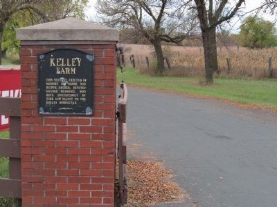 Kelley Farm Gate Plaque image. Click for full size.