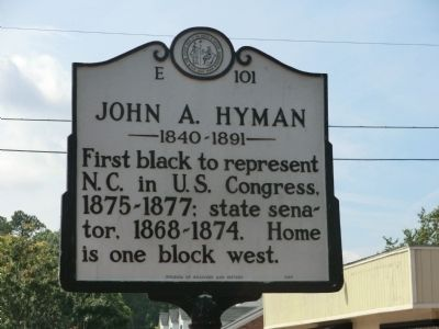 John A. Hyman Marker image. Click for full size.