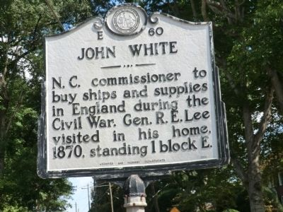 John White Marker image. Click for full size.