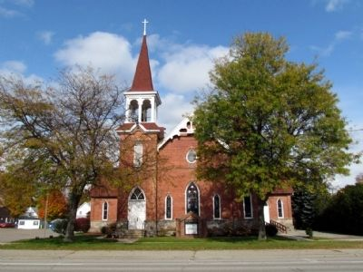 Otsego Methodist Church image. Click for full size.