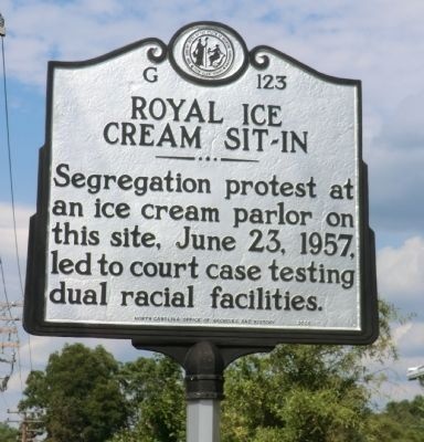Royal Ice Cream Sit-In Marker image. Click for full size.