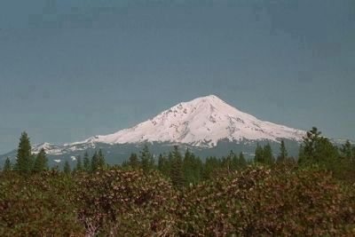 Mount Shasta from CA Route 89 image. Click for full size.