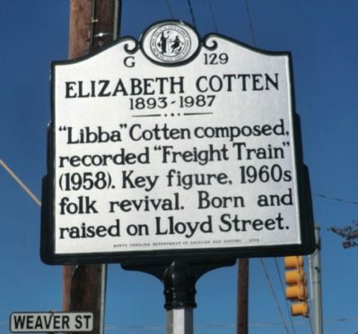 Elizabeth Cotten Marker image. Click for full size.