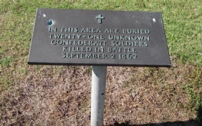 Confederate Grave Marker image. Click for full size.