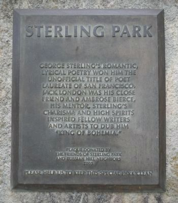 Sterling Park Marker image. Click for full size.