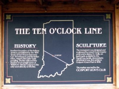 The Ten O'Clock Line Marker image. Click for full size.