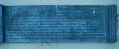 Coit Memorial Tower Marker, right panel image. Click for full size.