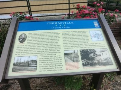 Thomasville Marker image. Click for full size.
