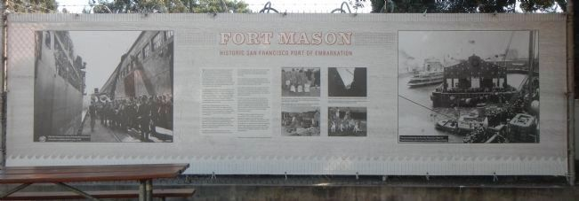 Fort Mason Marker image. Click for full size.