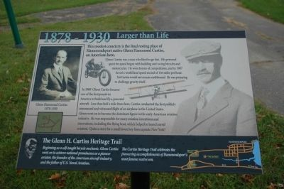 Larger Than Life Marker image. Click for full size.