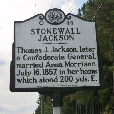 Stonewall Jackson Marker image. Click for full size.