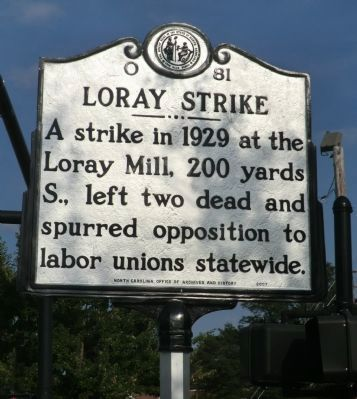 Loray Strike Marker image. Click for full size.