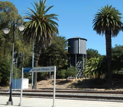 Southern Pacific Water Tower image. Click for full size.
