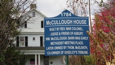 McCullough House Marker image. Click for full size.