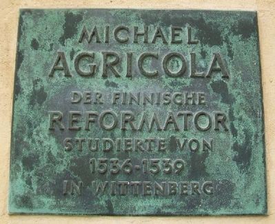 Michael Agricola Marker image. Click for full size.