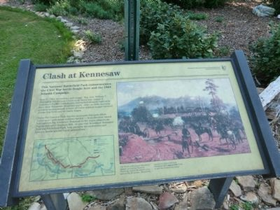 Clash at Kennesaw Marker image. Click for full size.