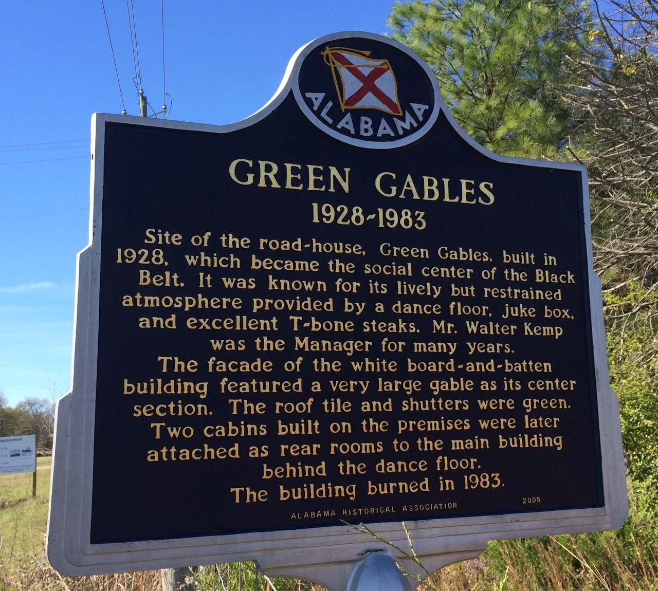 Green Gables Marker