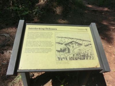 Interlocking Defenses Marker image. Click for full size.