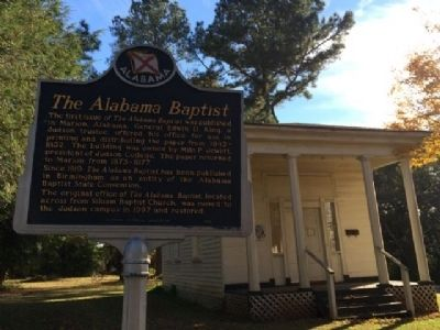 The Alabama Baptist image, Touch for more information