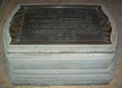 Martin Luther Tomb at Castle Church image. Click for full size.