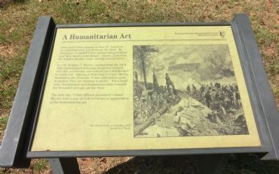 A Humanitarian Act Marker image. Click for full size.