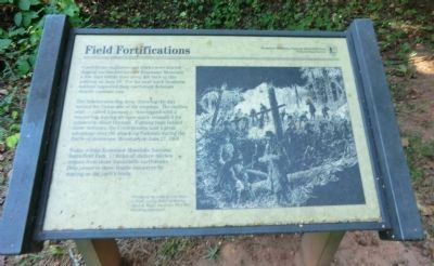 Field Fortifications Marker image. Click for full size.