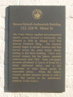 Brown-Nickell-Authenrieth Building Marker image. Click for full size.