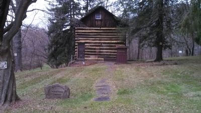Walker-Ewing Log House image. Click for full size.