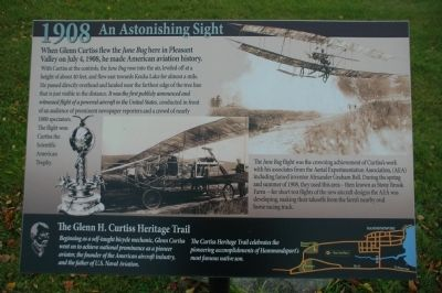 An Astonishing Sight Marker image. Click for full size.