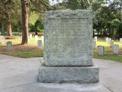 Unknown Confederate Soldiers Memorial image. Click for full size.